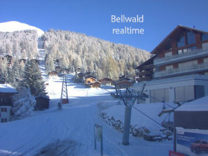 Bellwald webcam piste